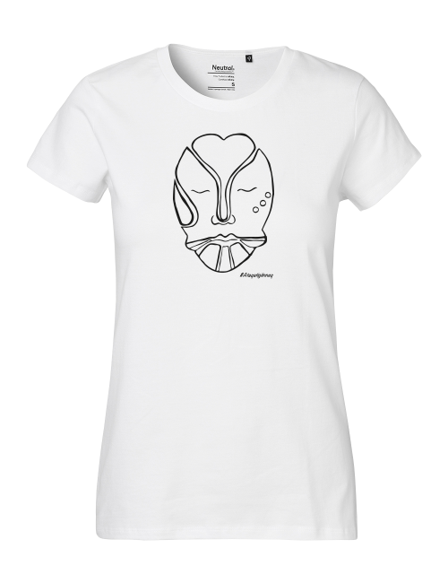 Women's t-shirt, white